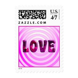 Hypnotic Love Postage Stamp