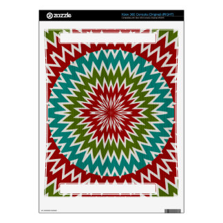 Hypnotic mandalaic flower xbox 360 decal