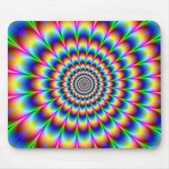 HYPNOTIC MOUSE PAD