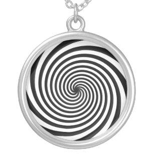 Hypnotic necklaces lockets zazzle hypnotic necklace mozeypictures Choice Image
