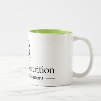 Hypnotic Nutrition Logo Mug with Green Inside