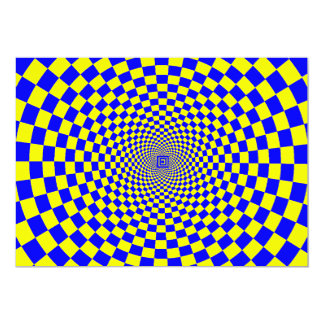 Hypnotic Optical Illusion Card
