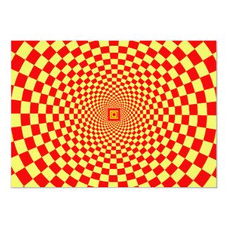 Hypnotic Optical Illusion Card