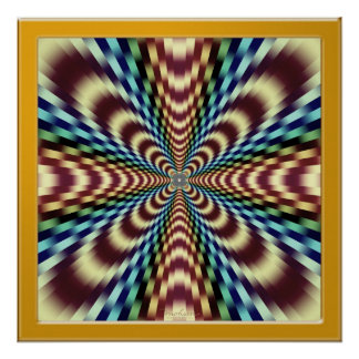 Hypnotic Optical Vibration Therapy Print