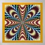 Hypnotic Optical Vibration Therapy Print