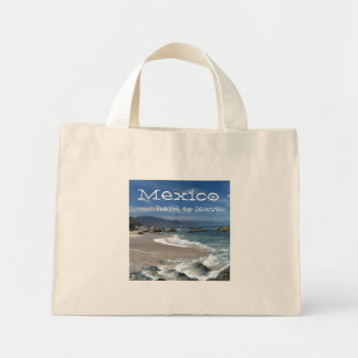 Hypnotic Pacific; Mexico Souvenir Mini Tote Bag