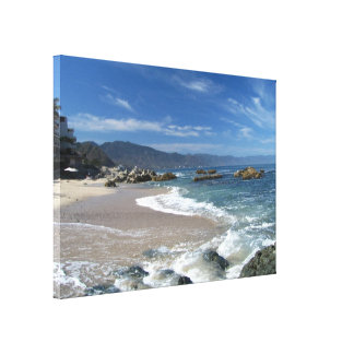 Hypnotic Pacific Stretched Canvas Prints