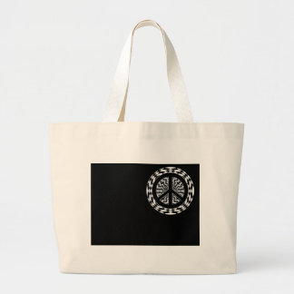 HYPNOTIC PEACE SIGN BAGS