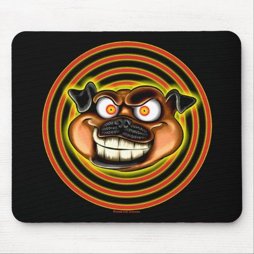 Hypnotic Pug Mousepad