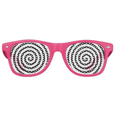 Hypnotic Retro Sunglasses at Zazzle