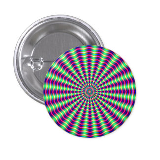 Hypnotic Rings and Beams Button