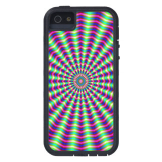 Hypnotic Rings and Beams Case For iPhone SE/5/5s