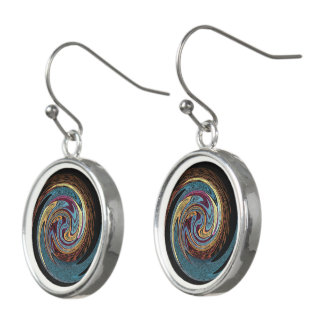 Hypnotic Rotating Stars Earrings