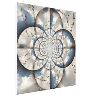 Hypnotic Sky Canvas Gallery Wrap Canvas