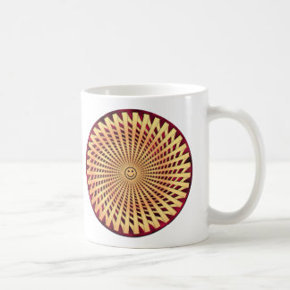 Hypnotic Smiling Face Mugs
