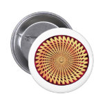 Hypnotic Smiling Face Pinback Button