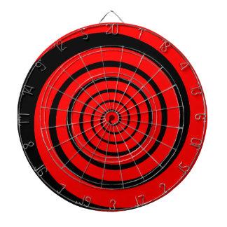 hypnotic spiral dartboard