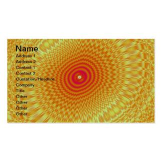 Hypnotic Spirals Business Card