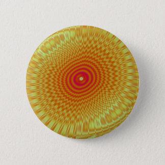 Hypnotic Spirals Button