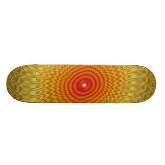 Hypnotic Spirals Skateboard
