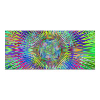 Hypnotic stars card