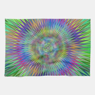 Hypnotic stars kitchen towel