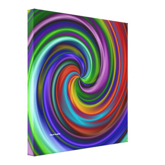 Hypnotic Stretched Canvas Print