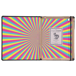 Hypnotic Sunshine Cover For iPad