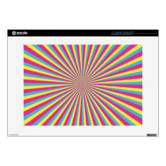 "Hypnotic Sunshine Decals For 15"" Laptops"