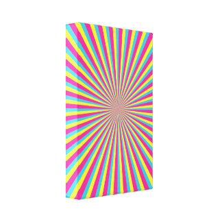 Hypnotic Sunshine Stretched Canvas Prints