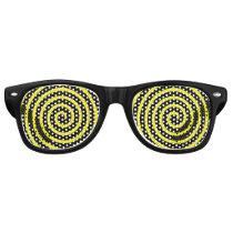 Hypnotic Swirl Retro Sunglasses