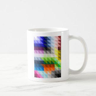 Hypnotic Triangles Coffee Mug