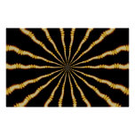 Hypnotic Trippy Mesmerizing Psychedelic Art Poster