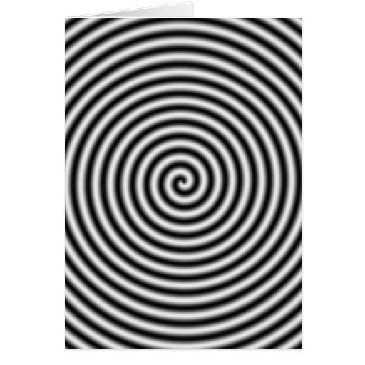 hypnotising card