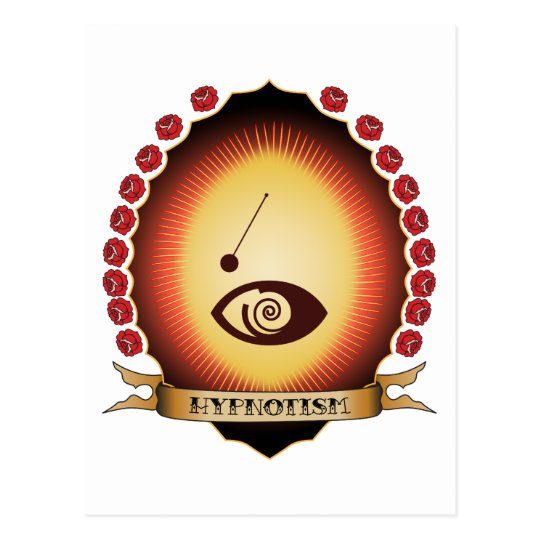 Hypnotism Mandorla Postcard