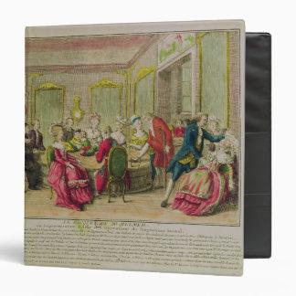 Hypnotism Session with Franz Anton Mesmer  1784 Binder