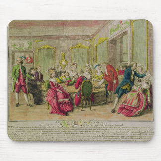 Hypnotism Session with Franz Anton Mesmer  1784 Mouse Pad