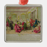 Hypnotism Session with Franz Anton Mesmer  1784 Christmas Ornaments
