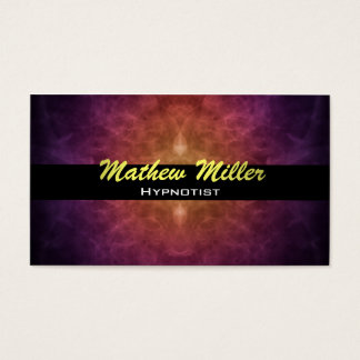 Hypnotist Business Cards