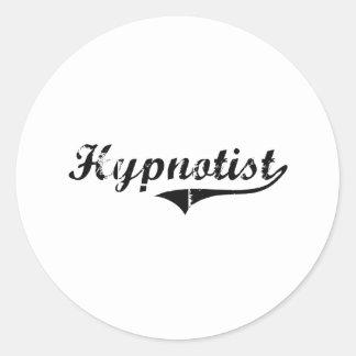 Hypnotist Professional Job Round Stickers