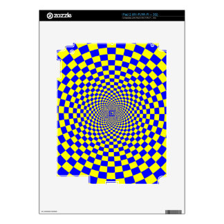 Hypnotix Optical Illusion Decal For The iPad 2