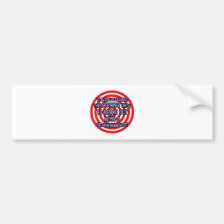 Hypnotize .. Funny Nephrologist Bumper Sticker