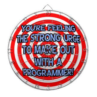 Hypnotize .. Funny Programmer Dart Board