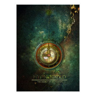 hypnotize on canvas poster