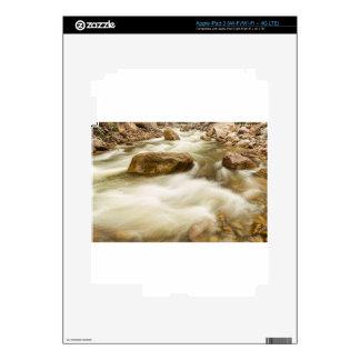 Hypnotized By A Rocky Mountain Stream Skins For iPad 3