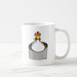 ;Hypnotized Chicken Coffee Mug
