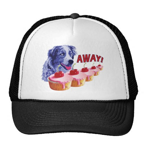 Hypnotized - Stains The Cupcake Dog - Away! Mesh Hats