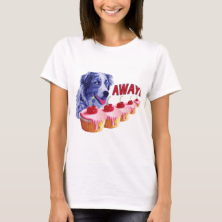Hypnotized - Stains The Cupcake Dog - Away! T-Shirt