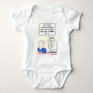 hypochondria virulent form doctor baby bodysuit