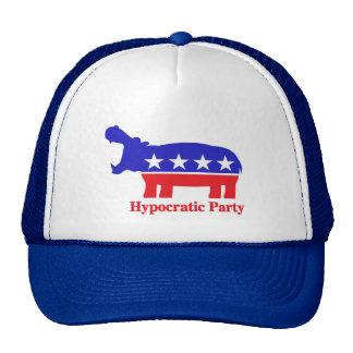 Hypocratic Party Mesh Hat